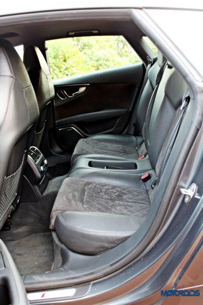 Audi RS7 rear seats backseat (1)