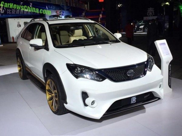 BYD Tang Ultimate Edition