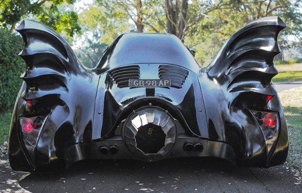 Batmobile make a wish for kids