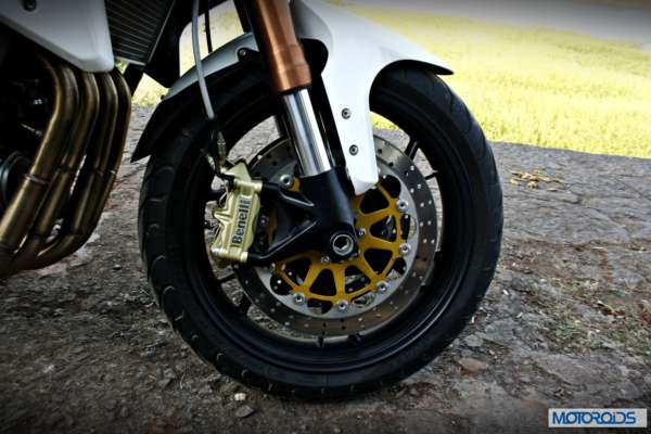 Top spec suspension and brakes are built to last
