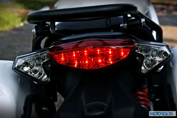 Benelli 600 GT tail lamp;