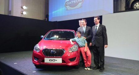 New Car launch 2015 : Datsun Go+ launched; starts at 3.96 lakh INR