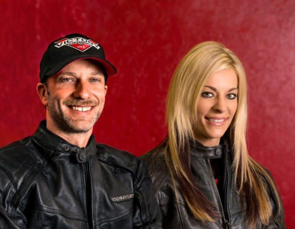 Drag Racer Matt Smith and Angie Smith