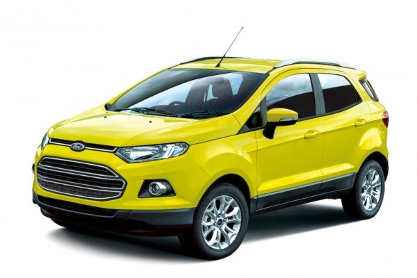 Ford Ecosport Bright Yellow Edition (1)