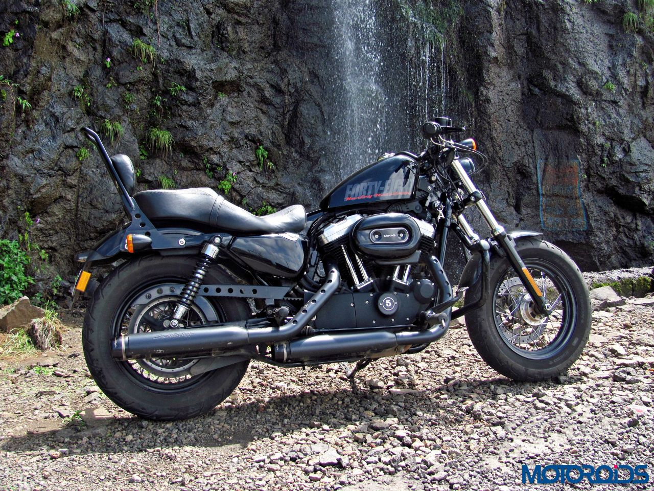 harley davidson forty eight review rebel yell motoroids. Black Bedroom Furniture Sets. Home Design Ideas