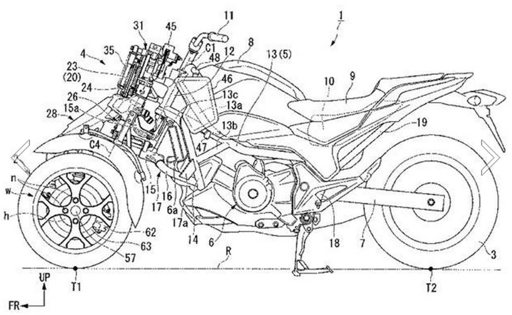 Honda planning NC750 based tilting trike   Motoroids