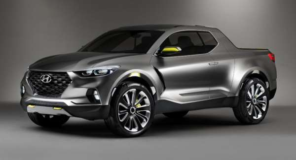 Hyundai Santa Cruz Crossover Truck Concept (4)