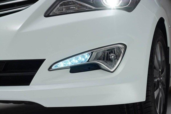 Hyundai solaris front bumper
