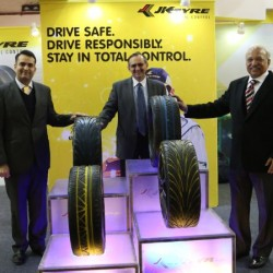 JK Tyre showcases new product concepts at Indian Rubber Expo 2015