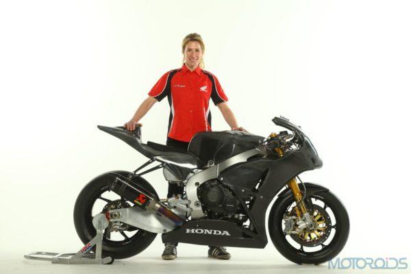 Jenny Tinmouth and her Honda CBR1000RR Fireblade - 1