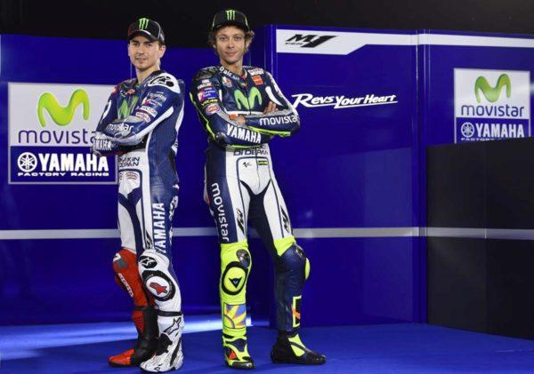 Jorge Lorenzo and Valentino Rossi 2015 MotoGP