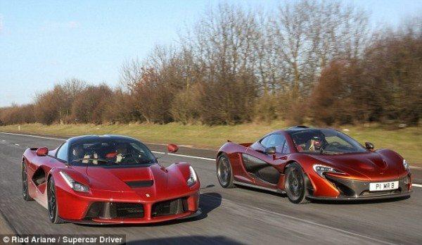 LaFerrari vs McLaren P1