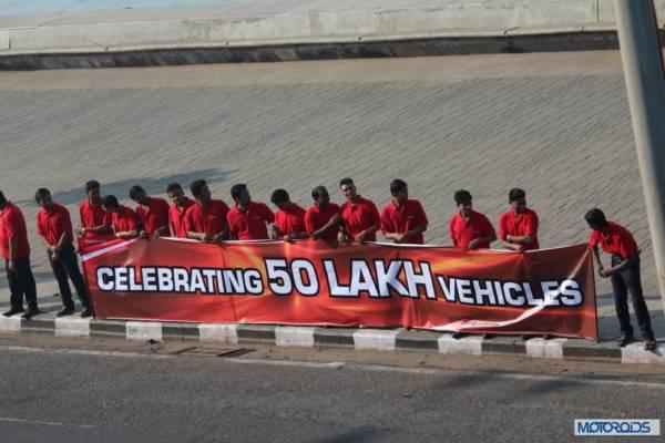 Mahindra - Production Milestone - Human Chain (15)