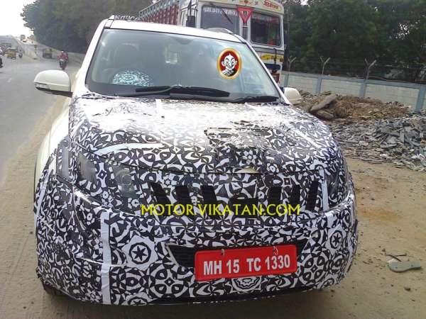 Mahindra XUV500 facelift (1)