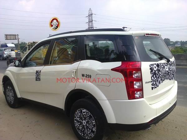 Mahindra XUV500 facelift (2)