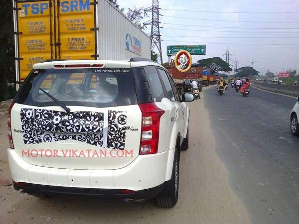 Mahindra XUV500 facelift (3)
