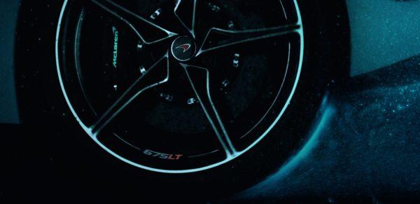 McLaren 675LT wheel