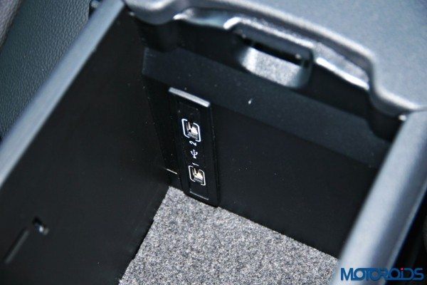 Mercedes-Benz CLA cooled glove-box