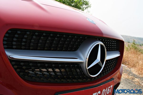 Mercedes CLA front grille