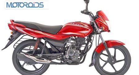 New-Bajaj-Platina-100ES-Red