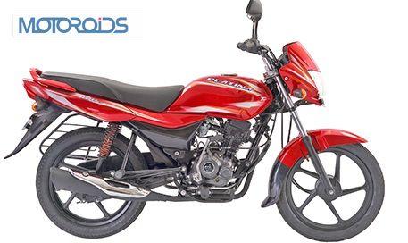 New-Bajaj-Platina-100ES-Red