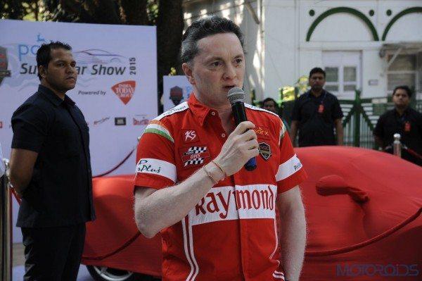 Parx Super Car Show - Press Conference