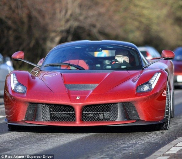 La Ferrari Laferrari Ferrari Red Supercar Hypercar: Hyperarousal: Collector Owns LaFerrari, Porsche 918 And