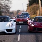 Hyperarousal: Collector owns LaFerrari, Porsche 918 and McLaren P1