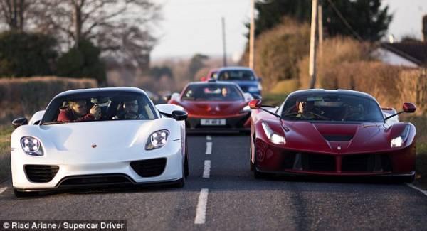 Paul Bailey hyper cars