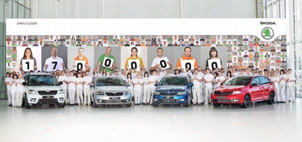 Skoda-produces-17-millionth-car