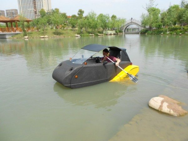 Spira4u floating car