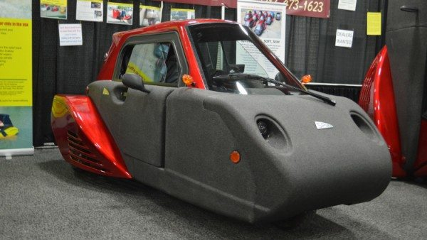 Spira4u three wheeler car