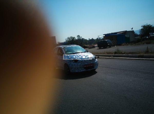 Tata-Kite-Hatchback-Spied-In-Pune - Front