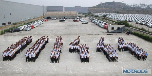 Volkswagen-Employees-Celebrate-At-Pune-Plant (1)