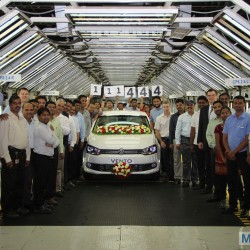 Volkswagen India achieves 111,444 cars production milestone at Pune Plant in 2014