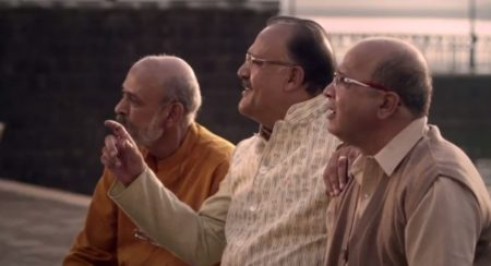 Video: Sanskaari Alok Nath plays Babuji yet again for the Datsun Go+