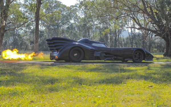 batmobile for terminally ill children