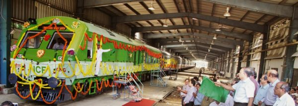 cng powered train