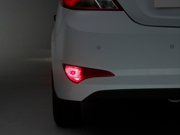 hyundai solaris rear bumper