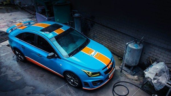 This Gulf Liveried Modified Chevrolet Cruze Finds Our Respect