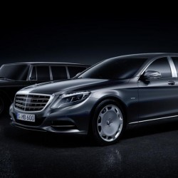 The ​Mercedes-Maybach S-Class Pullman is 21.5 feet long!