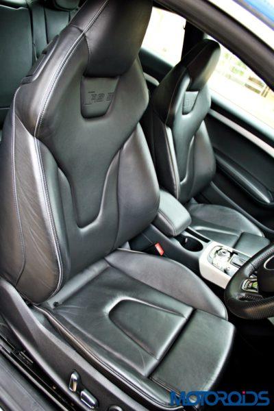 2012 Audi RS5 seats (1)
