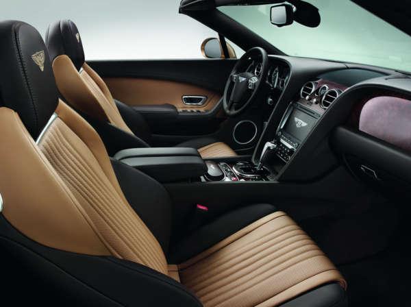 2015 Bentley Continental GTC Interior (3)