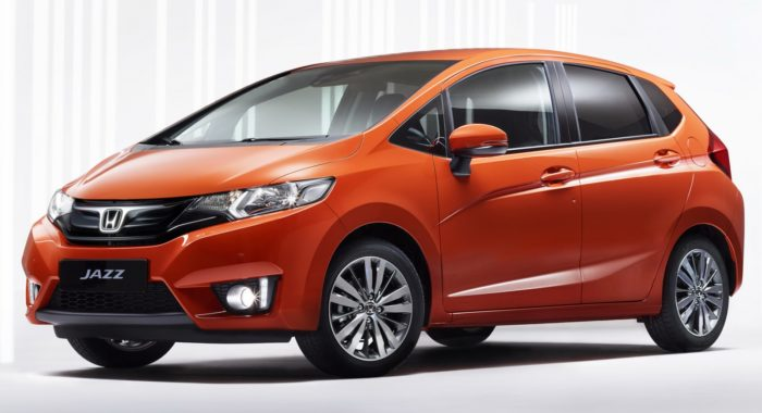 2015 honda jazz for europe revealed to debut at geneva. Black Bedroom Furniture Sets. Home Design Ideas