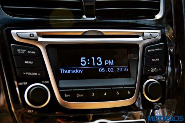2015 Hyundai Verna 4S (92)audio system