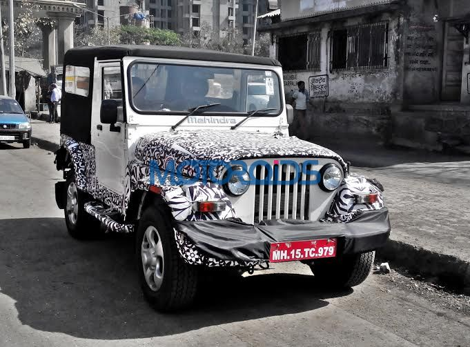 2015 Mahindra Thar Continues Testing To Come With Major