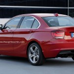 Spotted: 2016 BMW 1 Series Sedan