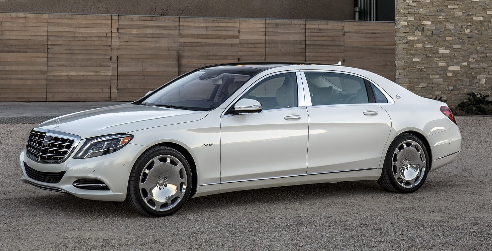 Get a load of the 2016 Mercedes Maybach S600 through new photos