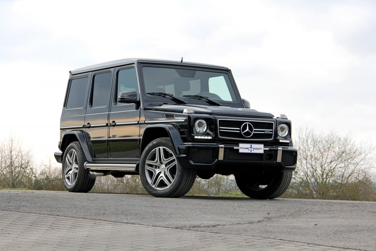 Mercedes benz g63 amg by posaidon makes 830hp and 1350 nm for Mercedes benz g 63