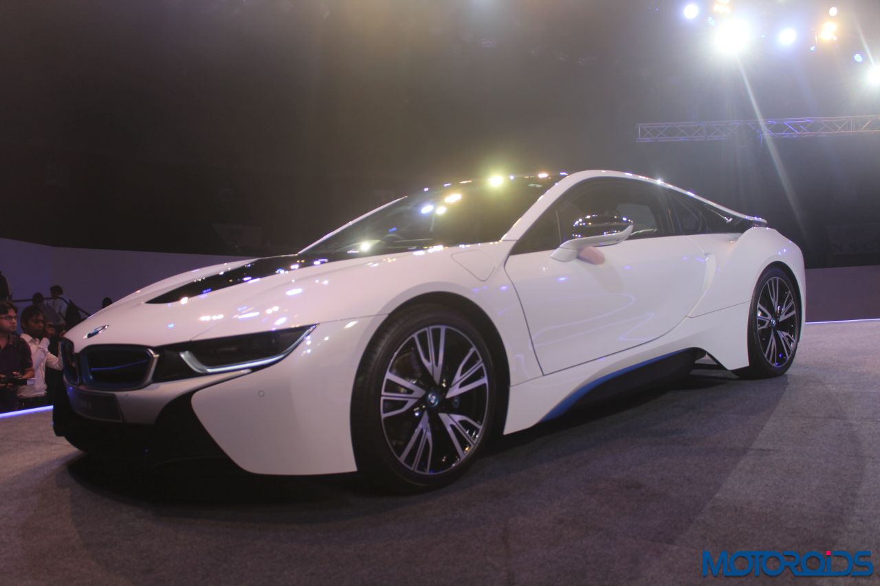 image gallery bmw i8 launched in india at an ex showroom price of inr 2 29 00 000 motoroids. Black Bedroom Furniture Sets. Home Design Ideas